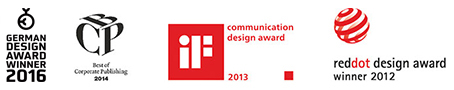 communication desing awards 2012-2015